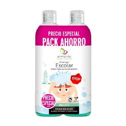 CHAMPU ESCOLAR PACK 300+300 ML
