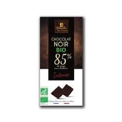 MOULIN-CHOCOLATE NEGRO INTENSO BIO (85% cacao) 100gr.
