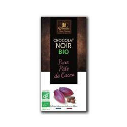 MOULIN-CHOCOLATE NEGRO 100% CACAO 100 Grs. - BIO