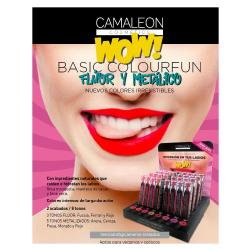 CAMALEON - OFERTA 10% DTO. EXPOSITOR BASIC COLOURFUN