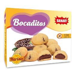 HARISIN-BOCADITOS DE CACAO 150 gr.