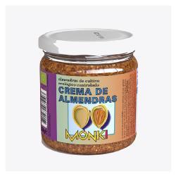 MONKI-CREMA DE ALMENDRA TOSTADA CON SAL 330 Grs.