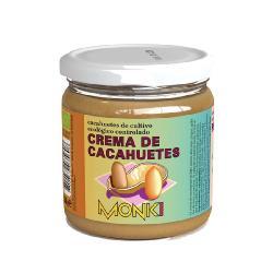 MONKI-CREMA DE CACAHUETE CON SAL 330 Grs.