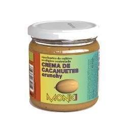 MONKI-CREMA DE CACAHUETES CRUJIENTES CON SAL 330 Grs.