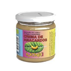 MONKI-CREMA DE ANACARDOS TOSTADOS 330 Grs.