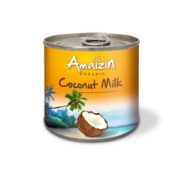 AMAIZIN-LECHE DE COCO 17% BIO 200 Ml.