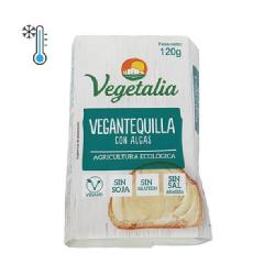 VEGETALIA-FRESCO VEGANTEQUILLA DE ALMENDRA CON ALGAS 120 Grs. BIO